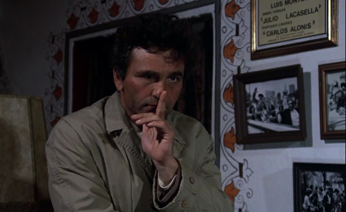 Question d'honneur lieutenant Columbo